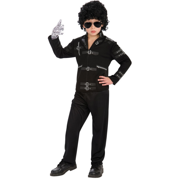 Michael Jackson Bad Jacket Kids Costume