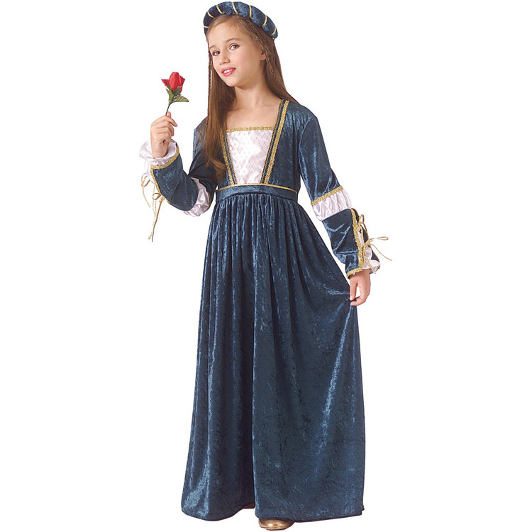 Juliet Medieval Renaissance Girls Costume