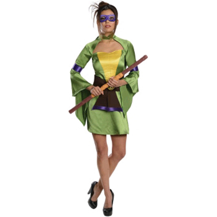 Teenage Mutant Ninja Turtles - Donatello Kimono Womens Costume
