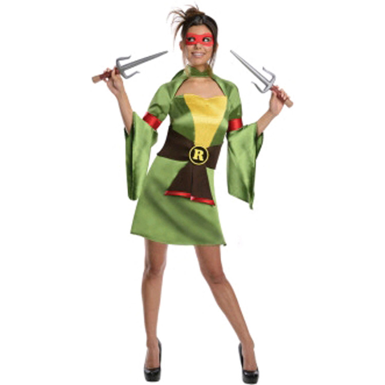 Teenage Mutant Ninja Turtles - Raphael Kimono Womens Costume