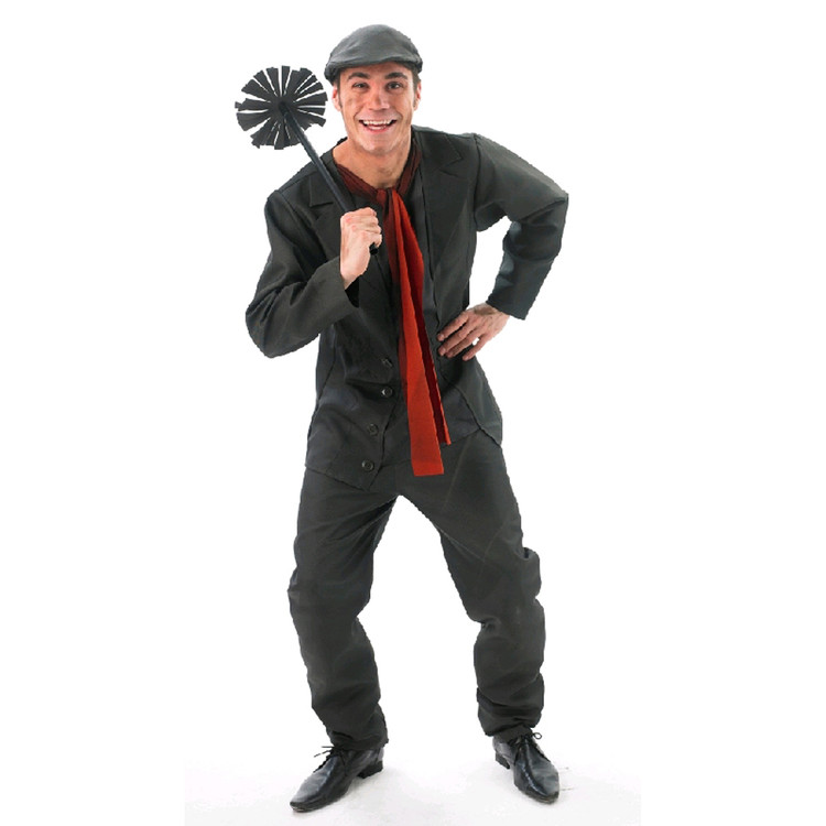 Mary Poppins Bert Chimney Sweep Mens Costume