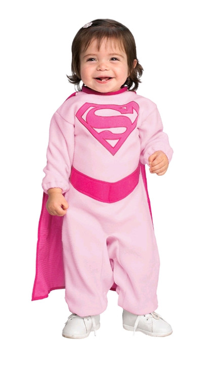 Supergirl PINK SUPERGIRL Infant Costume