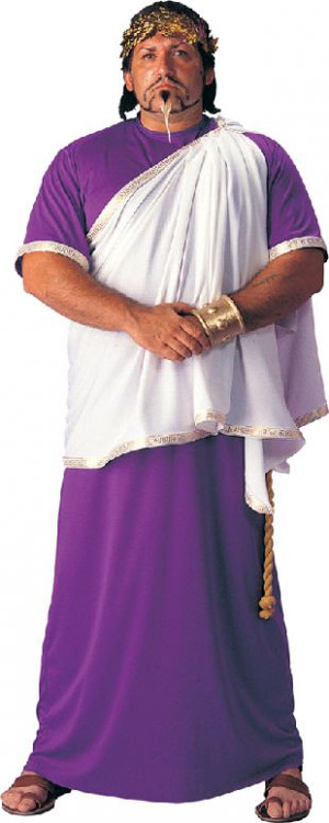 Toga Julius Caesar Plus Size Mens Costume