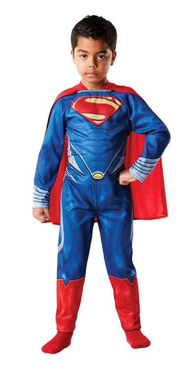 Superman Man of Steel Flat Chest Boys Costume