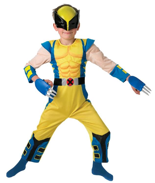 Wolverine X-Men Origins Deluxe Child Costume