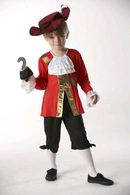 Pirate -  Captain Hook Boys Costume