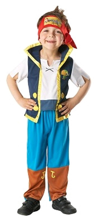 Pirate -  Jake and The Neverland Pirates Boys Costume