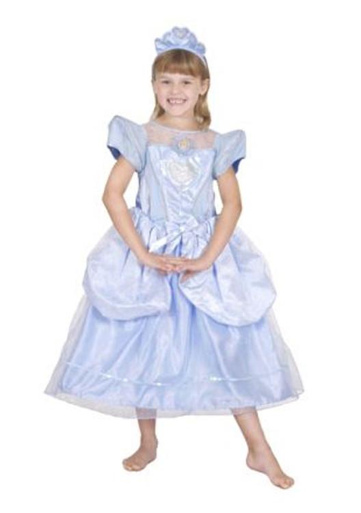 Cinderella Glitter & Glow Girls Costume