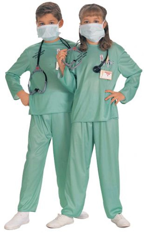 Doctor ER Surgeon Kids Costume