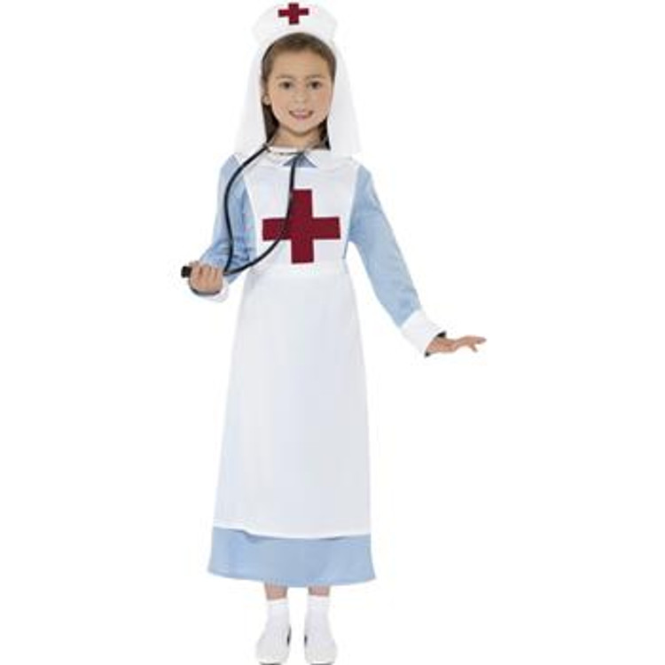 Nurse WW1 Girls Costume