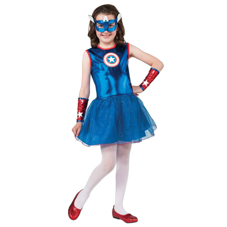 Captain America - Tutu Girls Costume