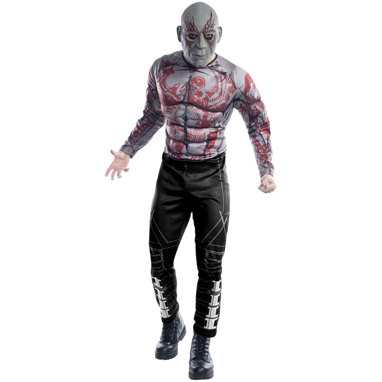 Guardians of the Galaxy: Drax the Destroyer Mens Costume