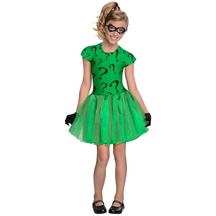 Batman - Riddler Tutu Girls Costume