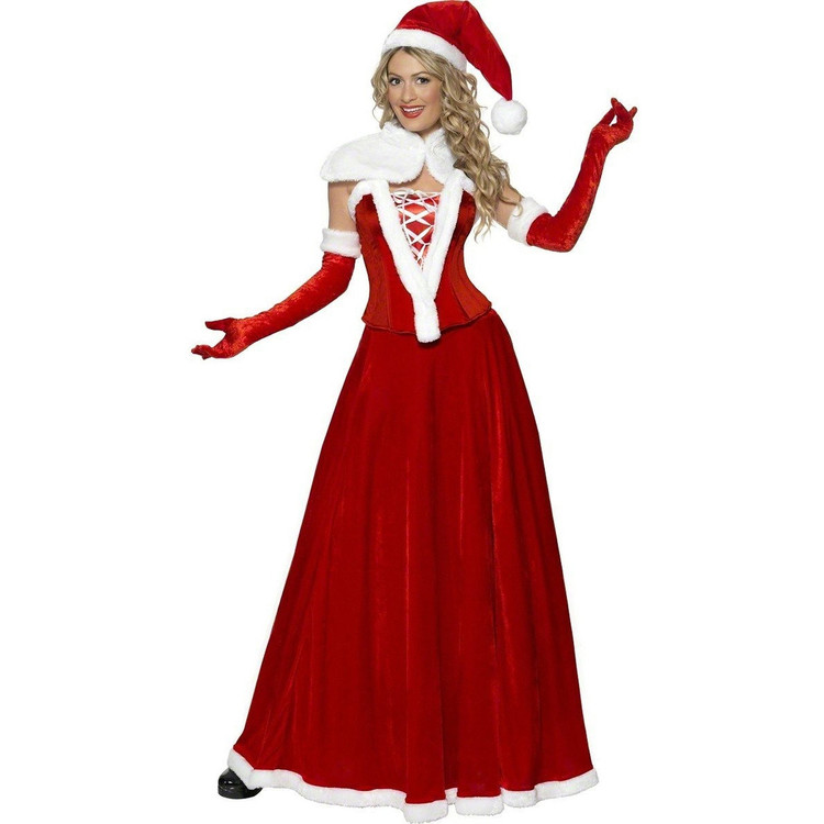 Miss Santa Christmas Luxury Womens Costume