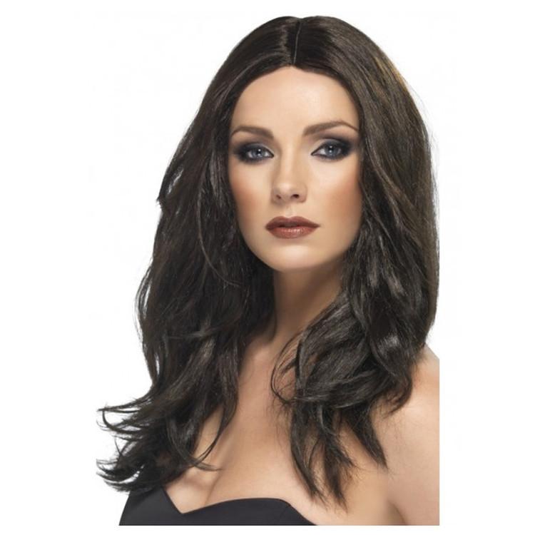 Superstar Women's Brunette Wig
