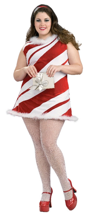 MS.CANDY CANE - SIZE PLUS