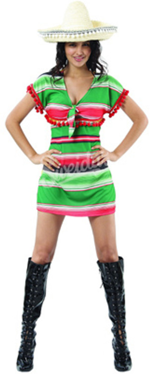 Mexican Dress Women's Costume