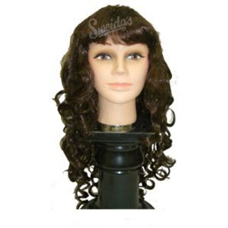 Long Mermaid Wig - Brown