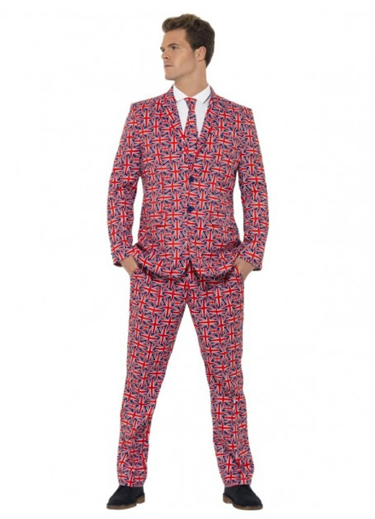 Union Jack Men's Suit