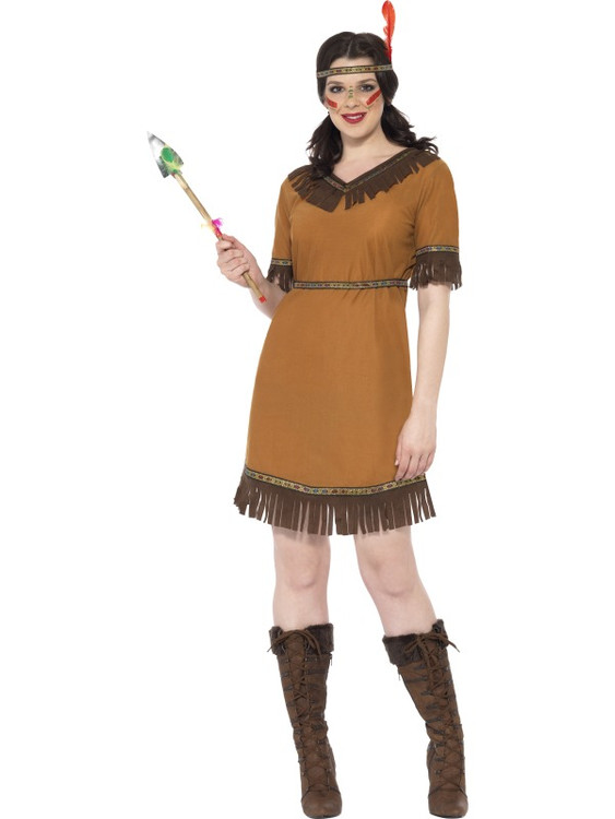 Native American Maiden Women's Costume