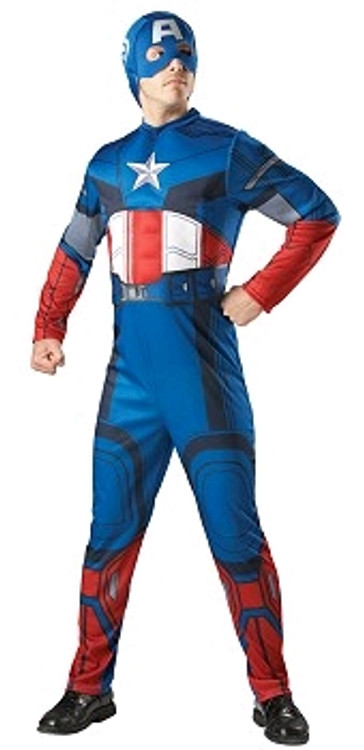 CAPTAIN AMERICA EVA MUSCLE CHEST WITH HOOD