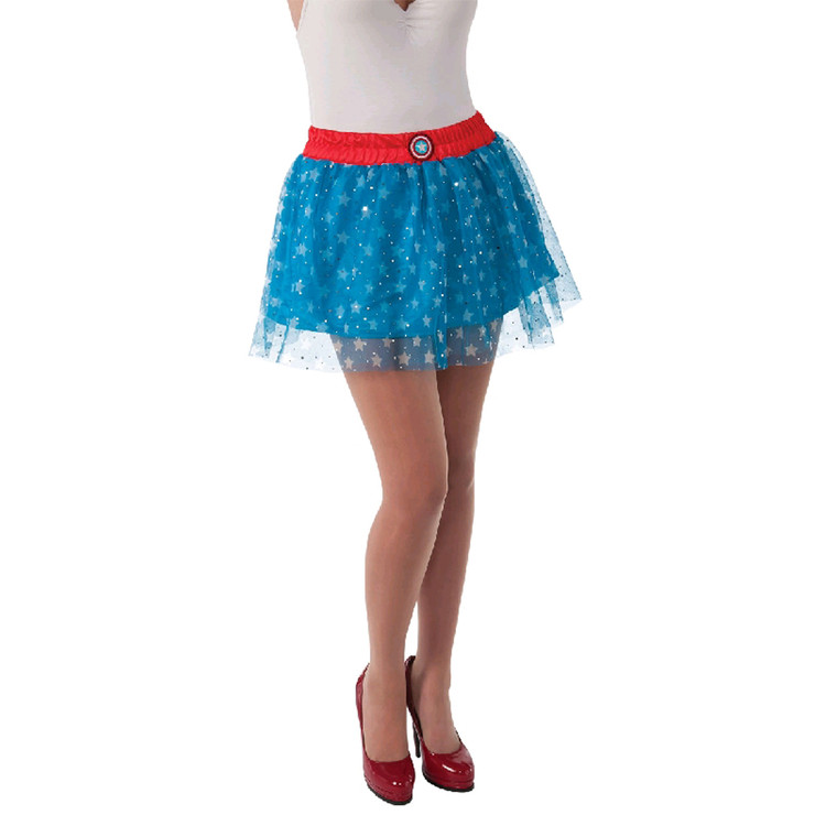 CAPTAIN AMERICA SKIRT - SIZE 8-10