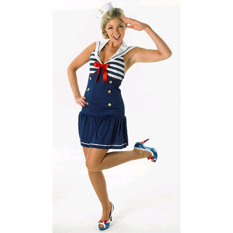 Sailor Girl Womens Costume