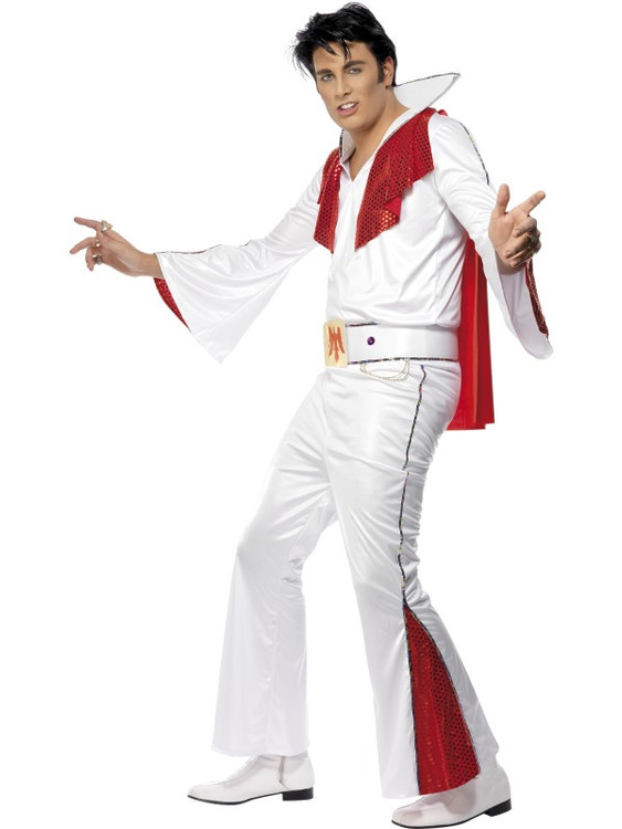 Elvis Red Flare Costume