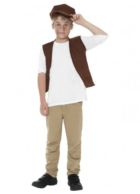 Colonial Victorian Urchin Boys Costume Kit