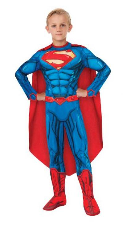 Superman Digital Print Boys Costume