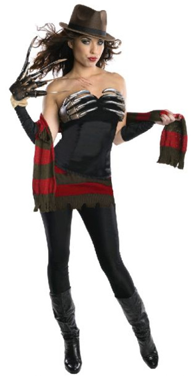 Never Sleep Again Corset Womens Costume