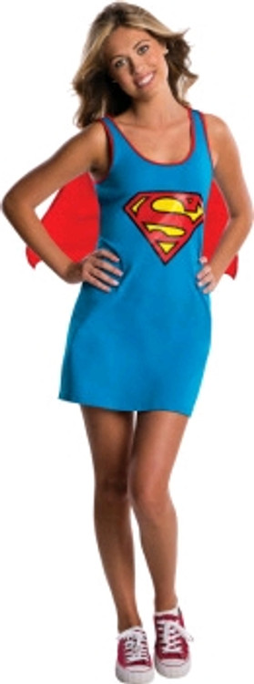 Supergirl Teen Tank Dress Costume