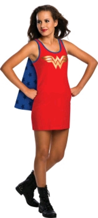 Wonder Woman Teen Tank Dress Costume