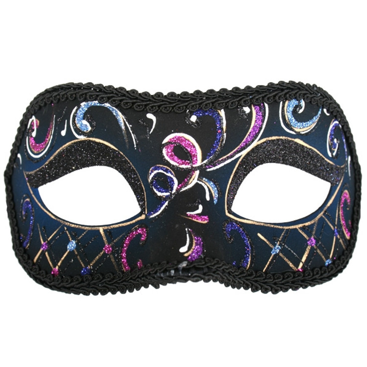Casablanca Pink & Blue Eye Mask
