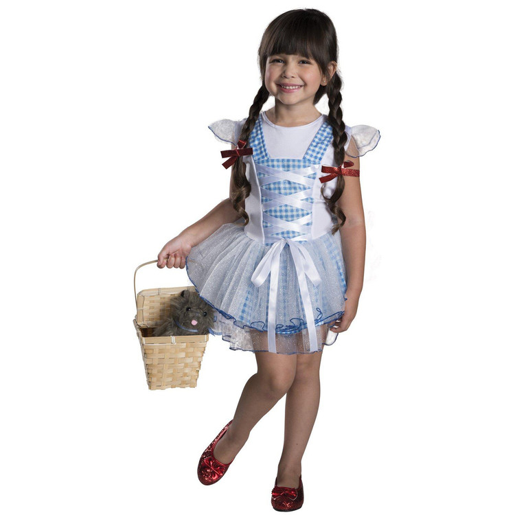 Wizard of Oz Dorothy Girls/ Toddler Tutu Costume