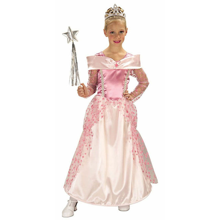 Pink Star Princess Girls Costume