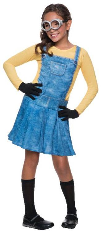 Despicable Me-  Femaile Minion Girl Costume