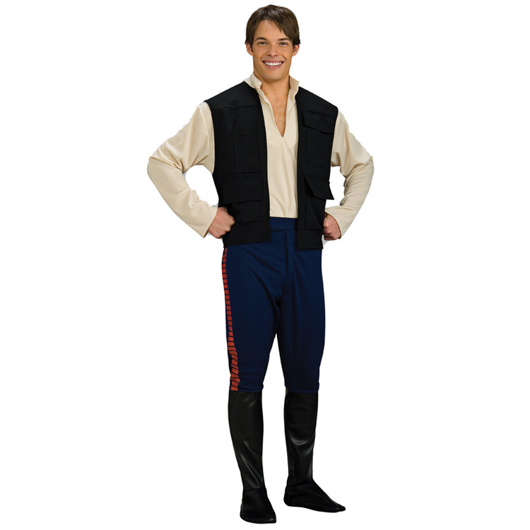 Star Wars - Han Solo - Deluxe Mens Costumes