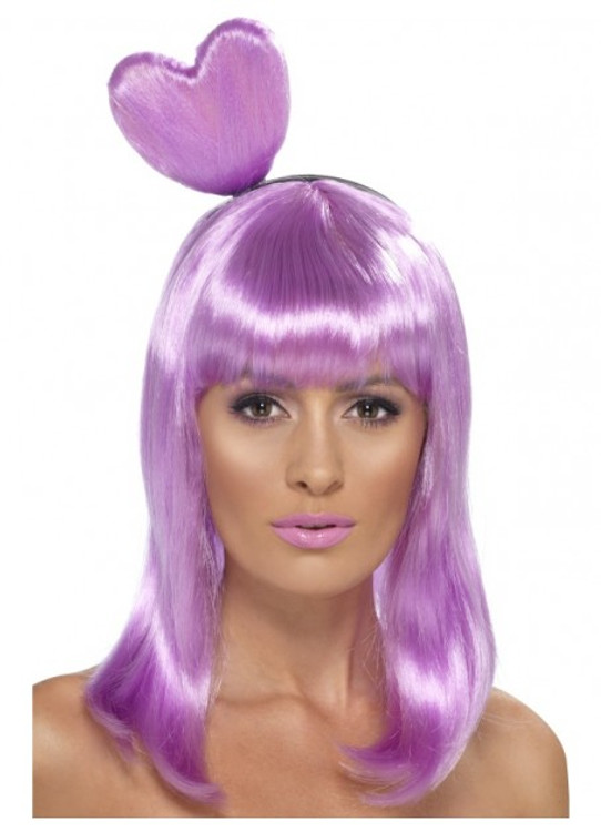 Katy Perry Candy Queen Heart Wig