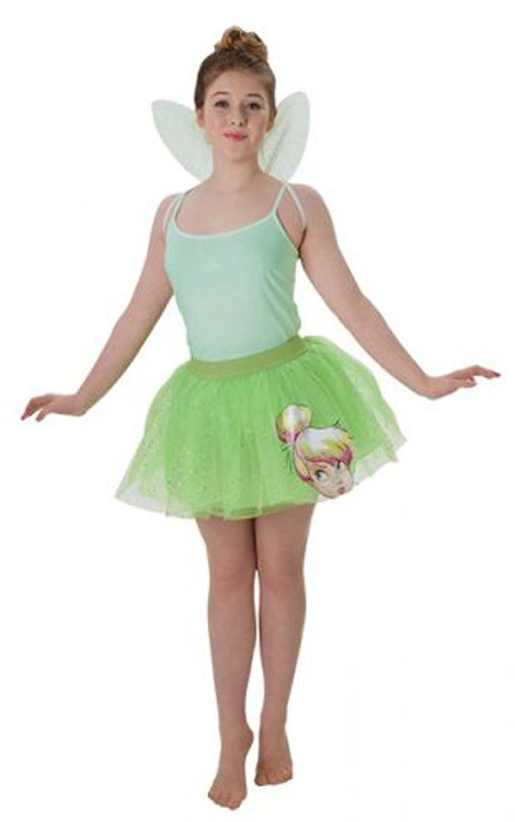 Tinkerbell Tutu & Wings Womens Costume