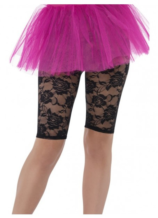 1980s Lace Cycling Shorts Women's Costume