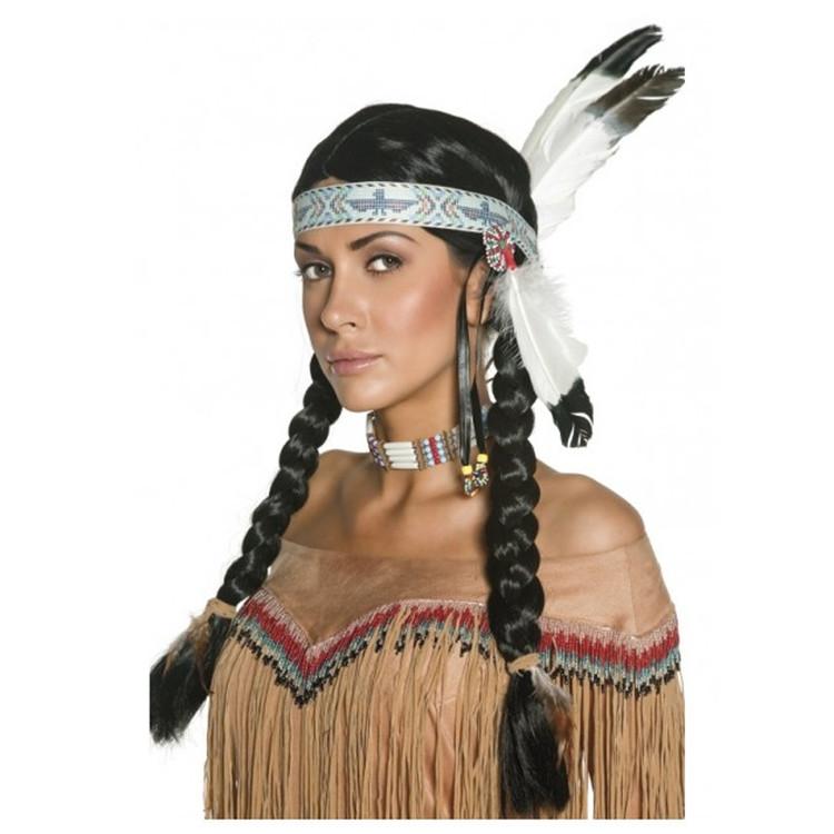 Native American Indian Pocahontas Wig