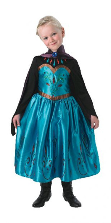 Frozen Elsa Coronation Girls Costume