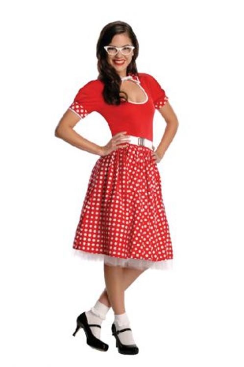 1950's Nerd Girl Womens Costume