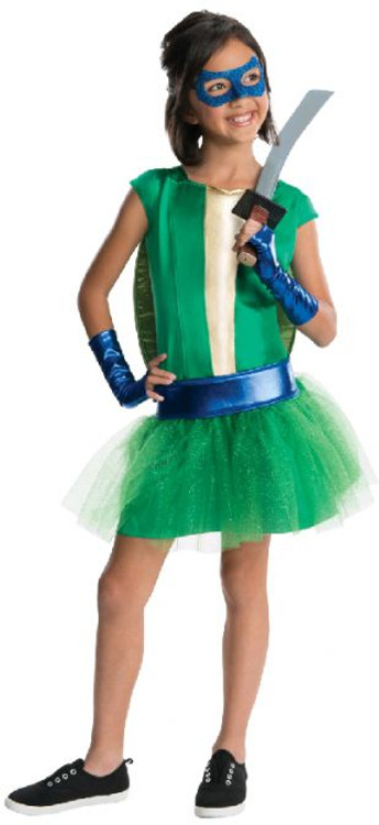 Teenage Ninja Turtle - Leonardo Tutu Girls Costume