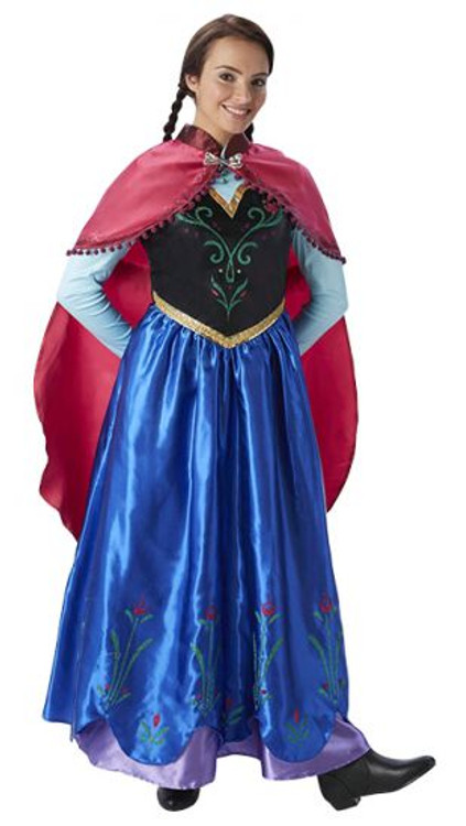 Frozen Anna Deluxe Adult Costume