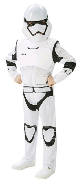 Star Wars - The Force Awakens Stormtrooper Deluxe Boys Costume