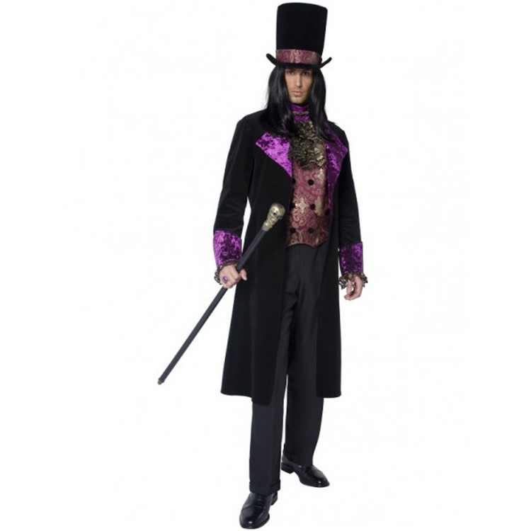 Vampire Gothic Count Mens Costume