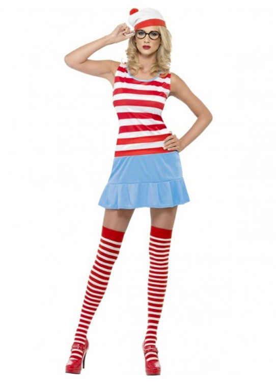Wheres Wally? Wenda Cutie Womens Costume