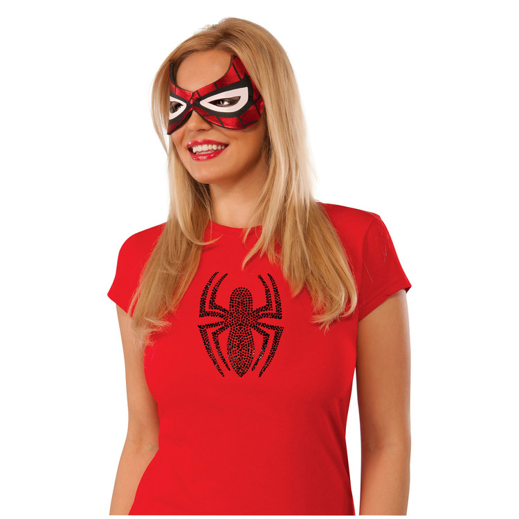 Spiderman Spidergirl Mask